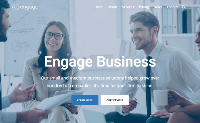 ビジネス向けWordPressテーマ:Engage