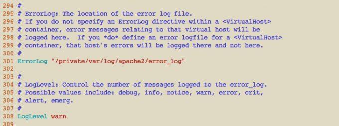 ログを設定すれば、htaccess の誤りを簡単に見つけられる